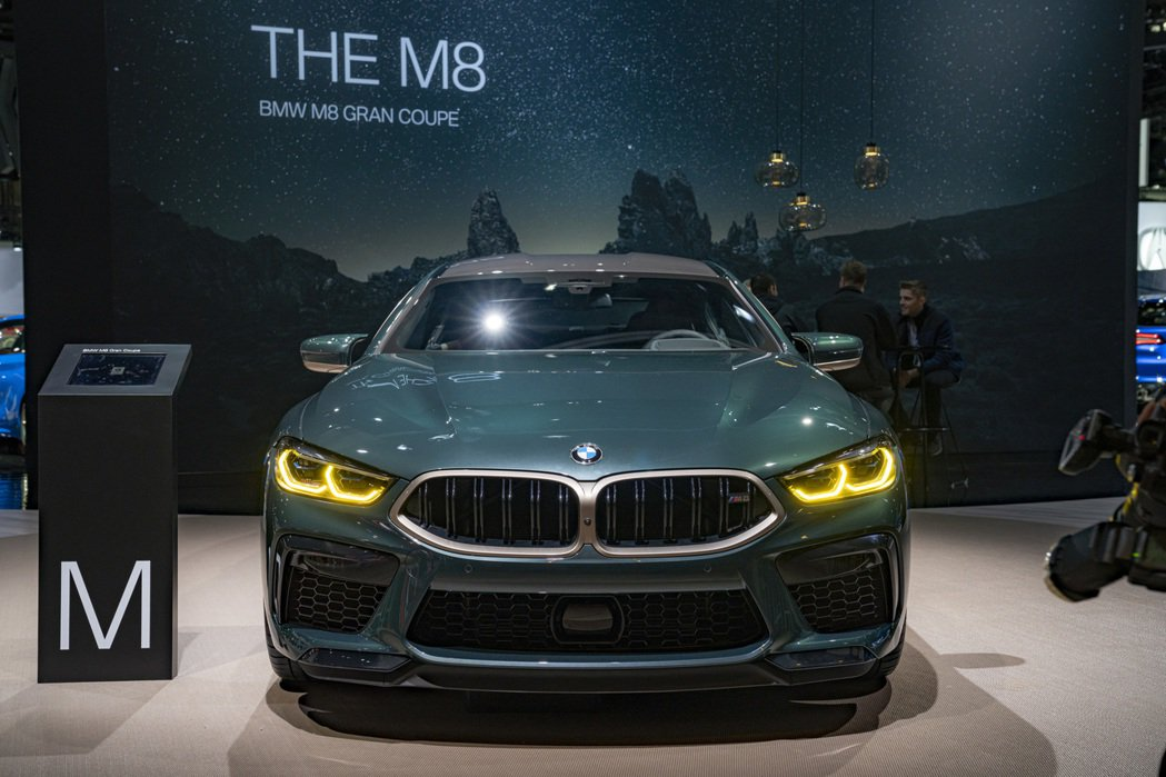 BMW M8 Gran Coupe First Edition外觀幾乎與去年在日...