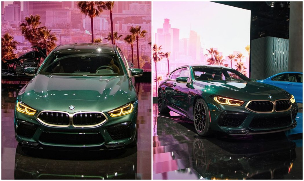 BMW M8 Gran Coupe First Edition動力配置與一般版本...