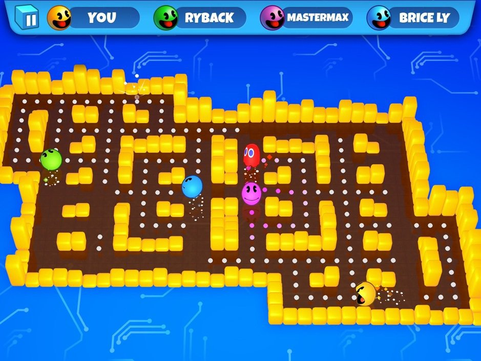 Apple Arcade平台的《PAC-MAN Party Royale》,有趣...