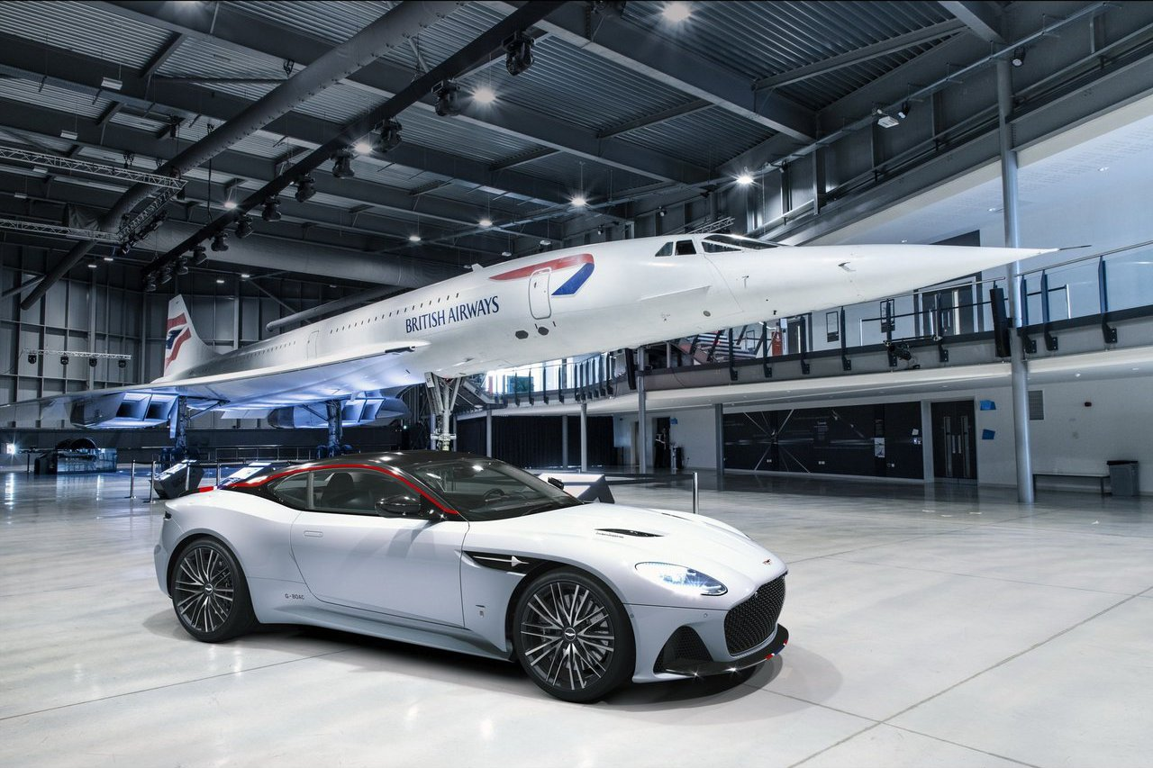Aston Martin DBS Superleggera Concorde向「超音速客機協和號」致敬!