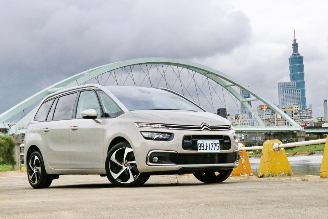 Citroen Grand C4 SpaceTourer。 記者陳威任/攝影