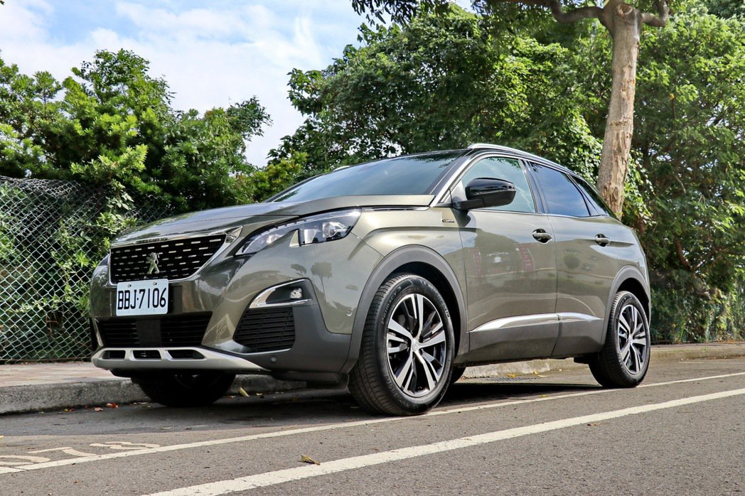 Peugeot 3008是詢問度頗高的話題休旅。 記者陳威任/攝影