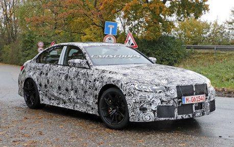 全新BMW M3車系 確定擁有後驅手排車款!