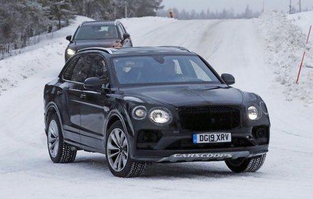 小改款Bentley Bentayga雪地現蹤 將導入更多新功能