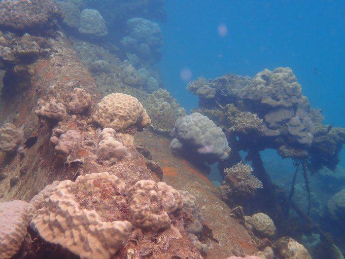 帛琉山中湖。 圖/FunTime