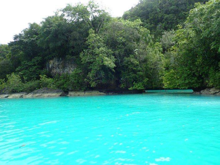 帛琉牛奶湖。 圖/FunTime