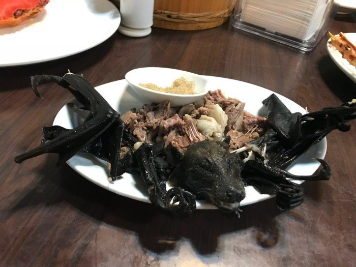 帛琉蝙蝠肉。 圖/FunTime