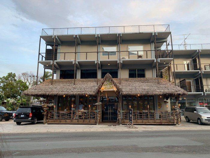 帛琉pizza店外觀。 圖/FunTime
