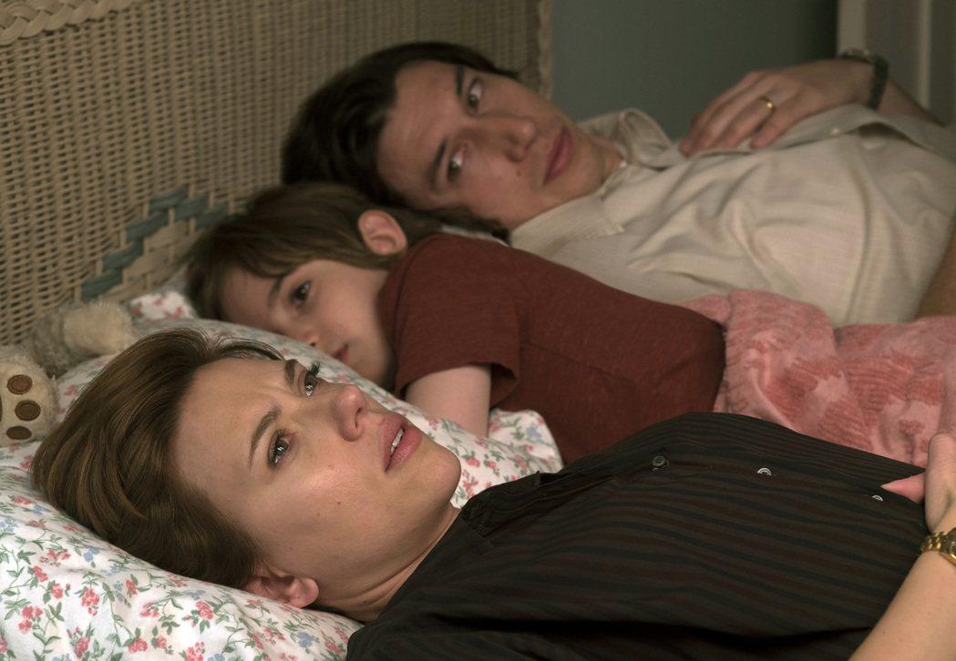 思嘉莉約翰森可望因「婚姻故事」首度入圍奧斯卡影后。圖/Netflix提供