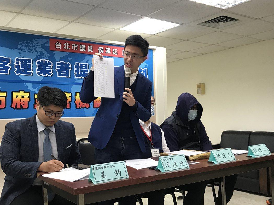 台北市議員侯漢廷今爆料指出,北市東南客運疑出現「幽靈班表」,駕駛休假或離職,卻在...