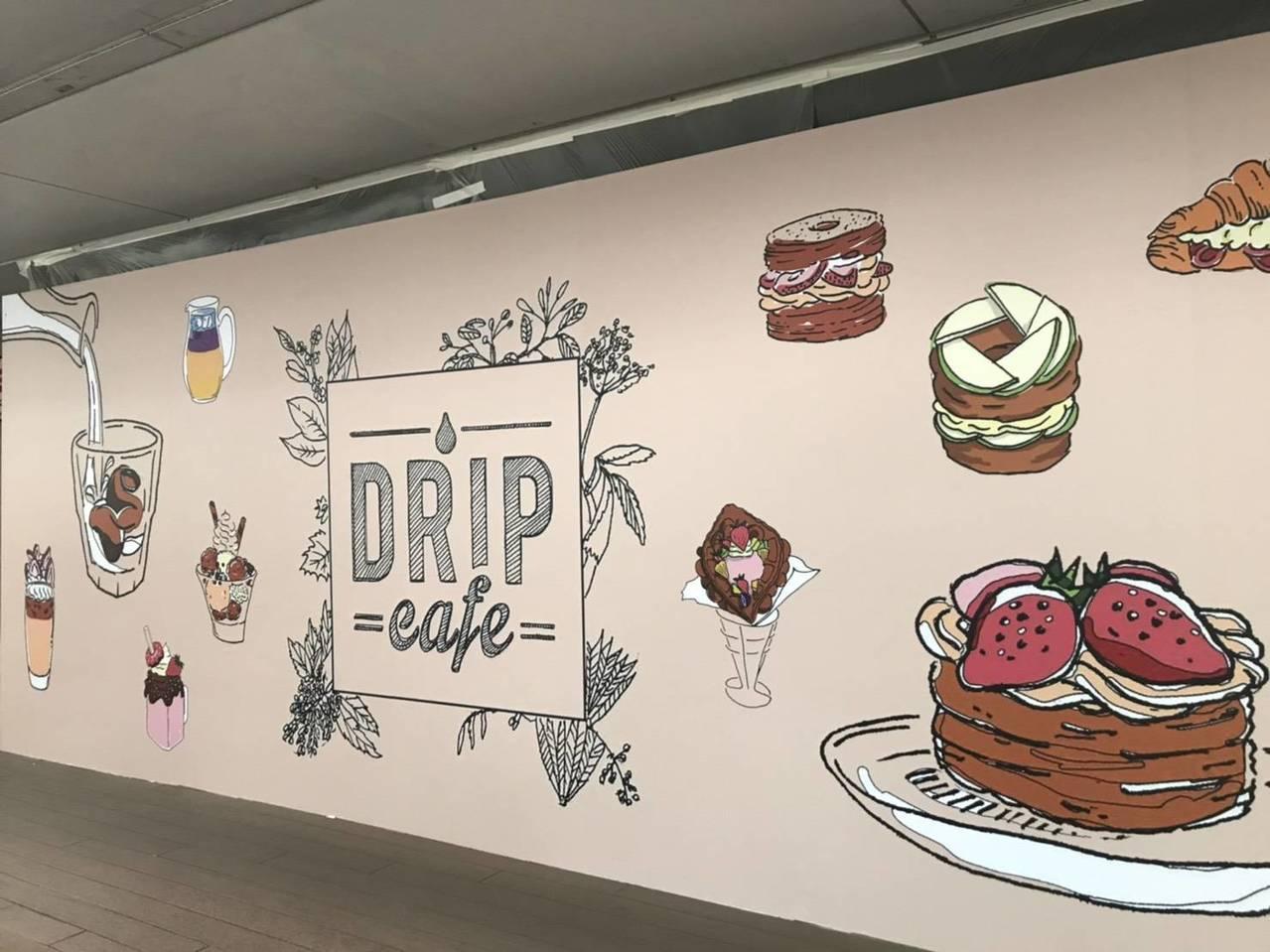 好滴咖啡首度進駐百貨商場,將於12月下旬於環球購物中心板橋車站開幕。圖/環球購物...