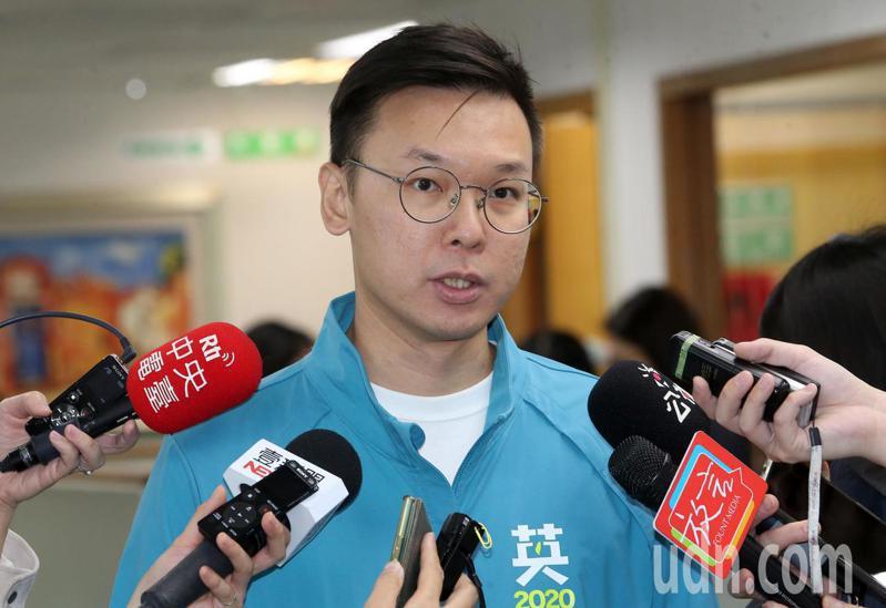 民進黨副秘書長林飛帆。記者胡經周/攝影