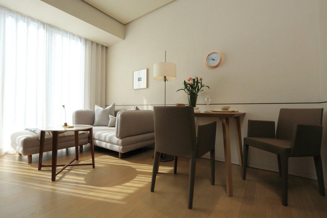 琢豐採「精裝修」設計,提供住戶精品級裝潢享受。圖/琢豐提供