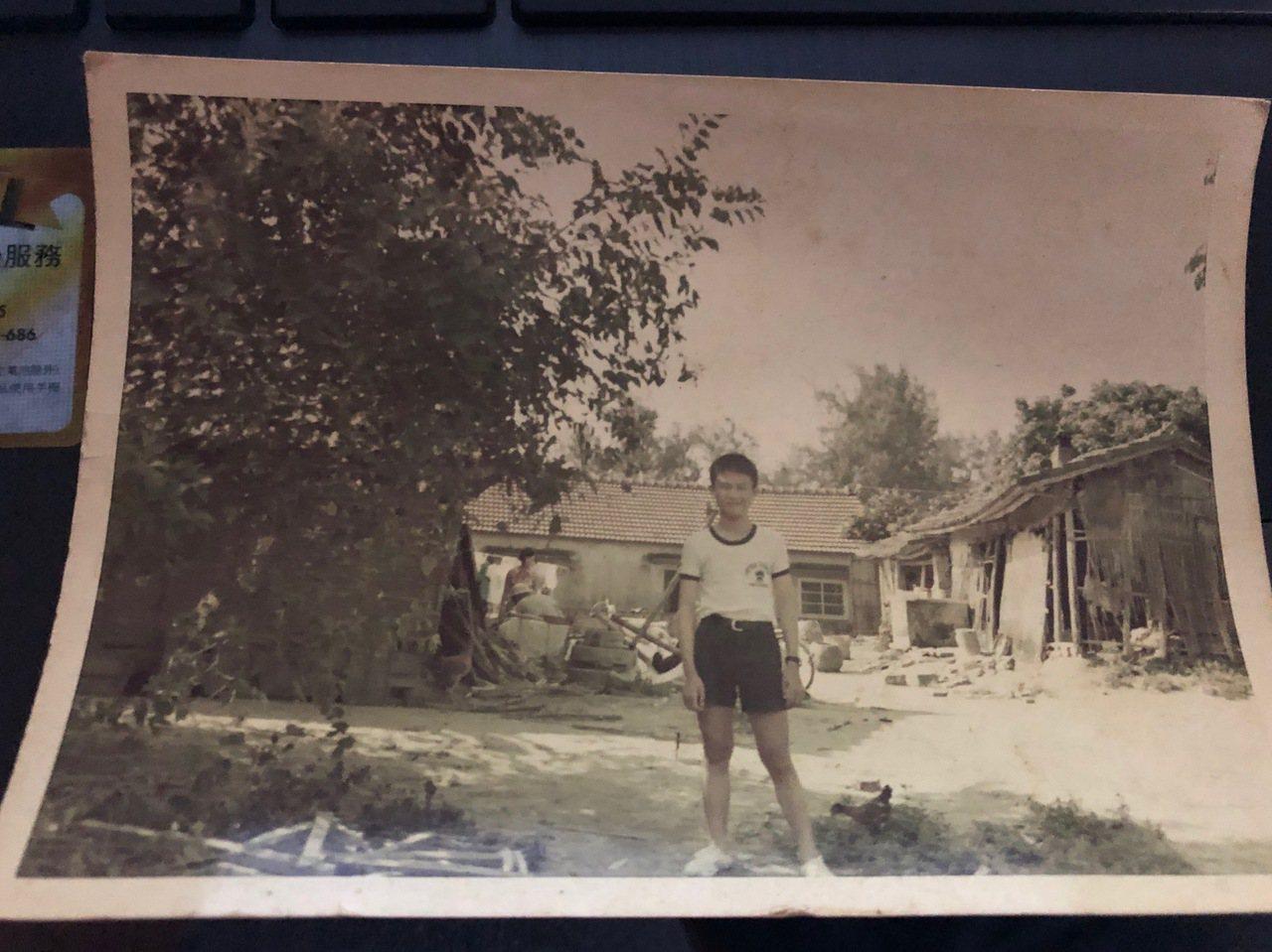 1973年第三代巨人少棒拿世界冠軍,政府為家窮的選手黃金勇蓋了一棟房子。圖/海東...