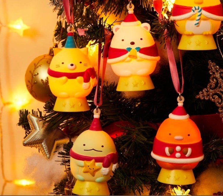 「角落小夥伴LED燈」以溫暖燈光,照亮每個辛苦的旅人。圖/取自bpnavi.jp