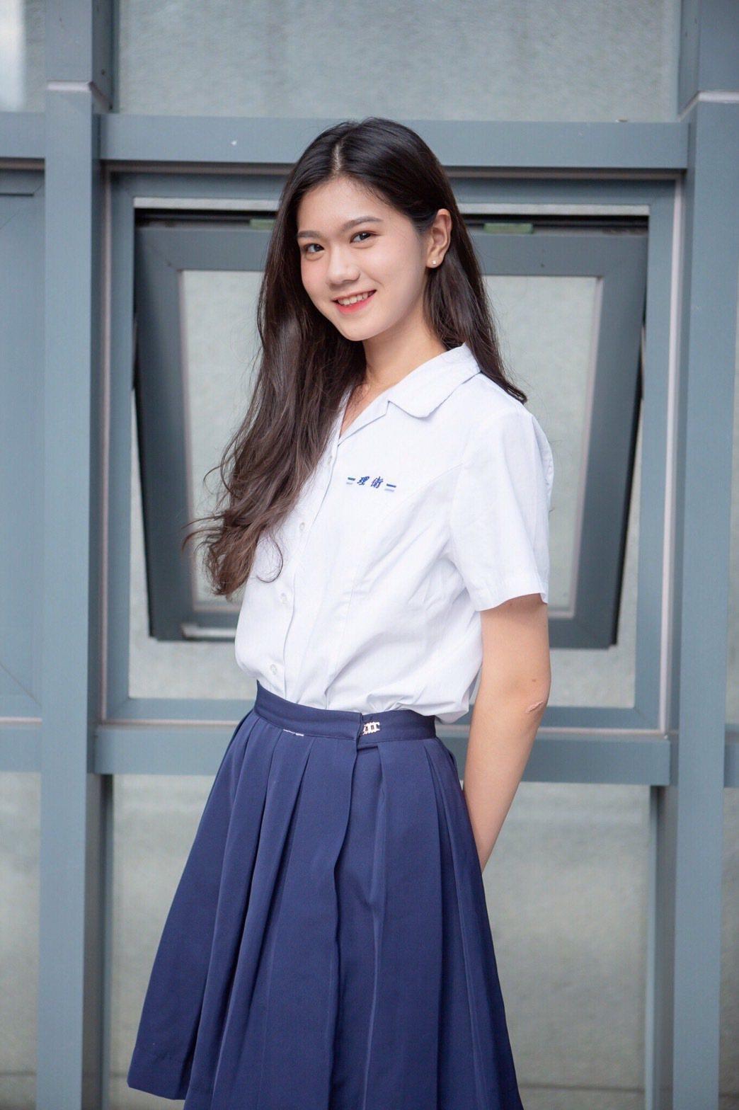 學生名模王郁婷。圖/伊林提供