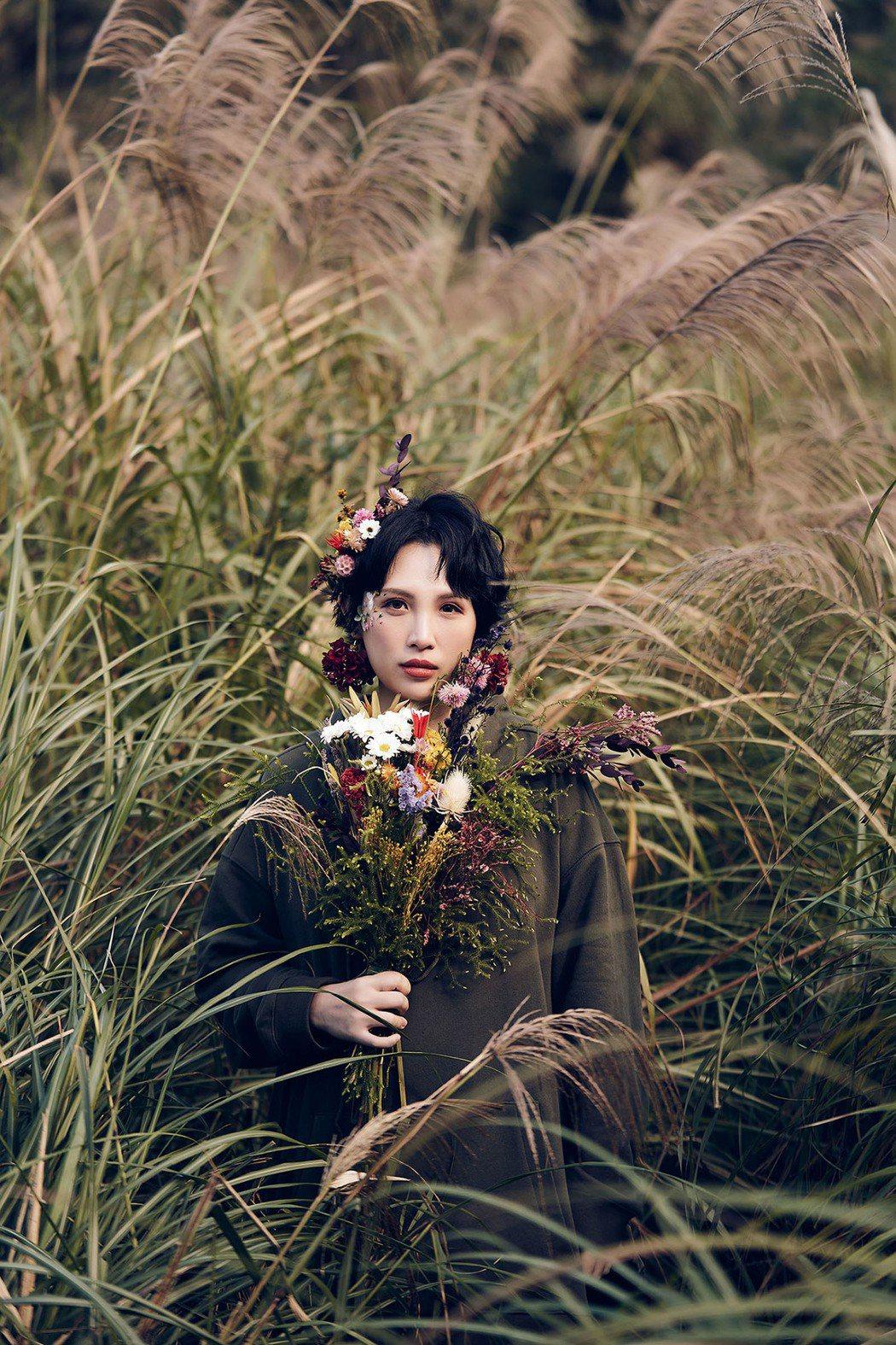 魏如萱新歌MV於陽明山取景。圖/好多音樂提供