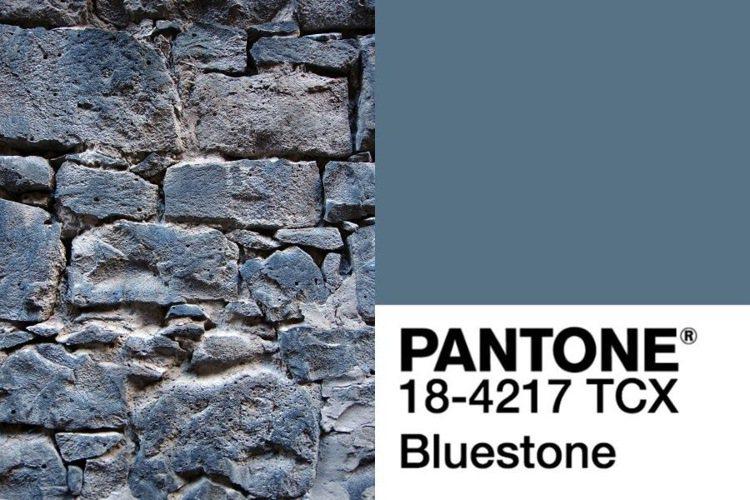 2019秋冬代表色就是青石藍(#Bluestone)。圖/摘自PANTONE網站