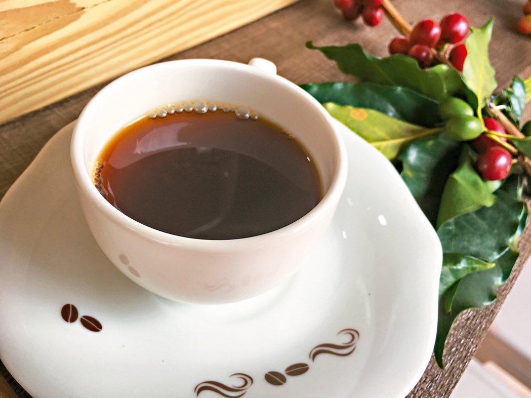 咖啡示意圖。 記者陳雅玲/攝影