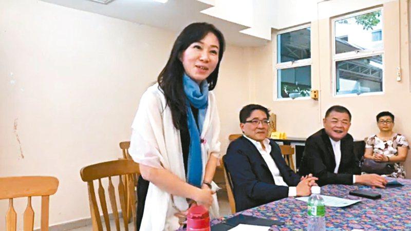 國民黨總統參選人韓國瑜妻子李佳芬昨參訪馬來西亞吉隆坡台灣學校。 圖/韓國瑜競選團隊提供
