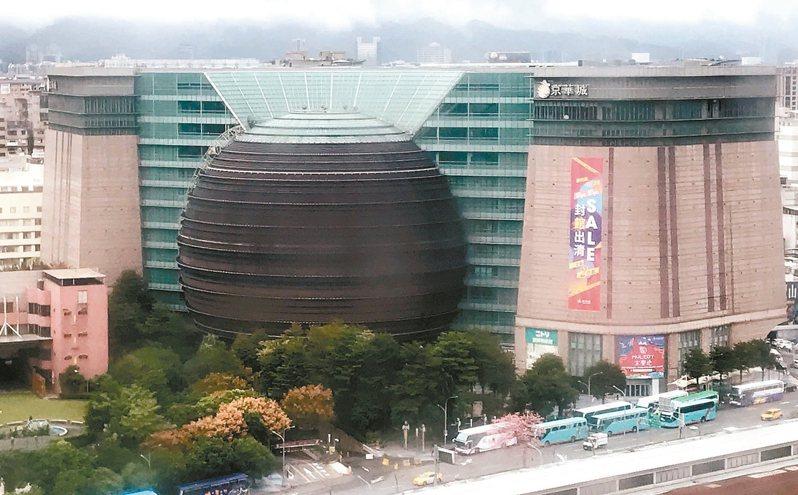 京華城即將吹起熄燈號走入歷史。 記者徐兆玄/攝影
