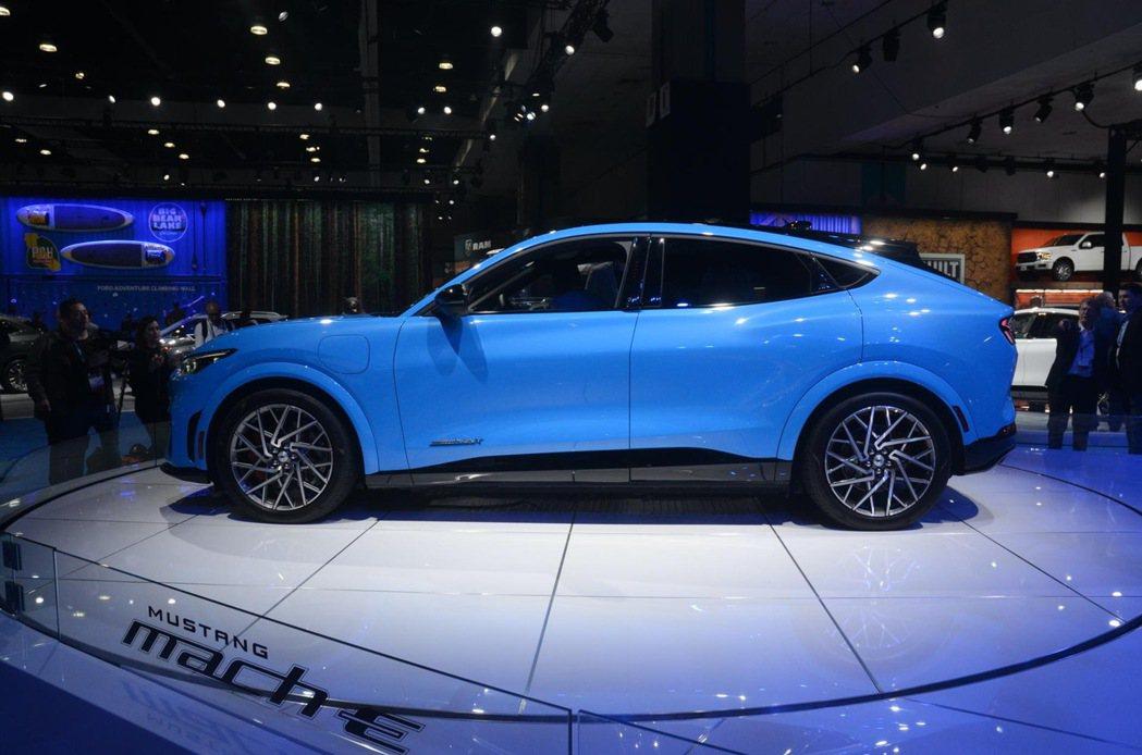 福特對於Ford Mustang Mach-E在中國市場的銷售深具信心。 圖/摘...