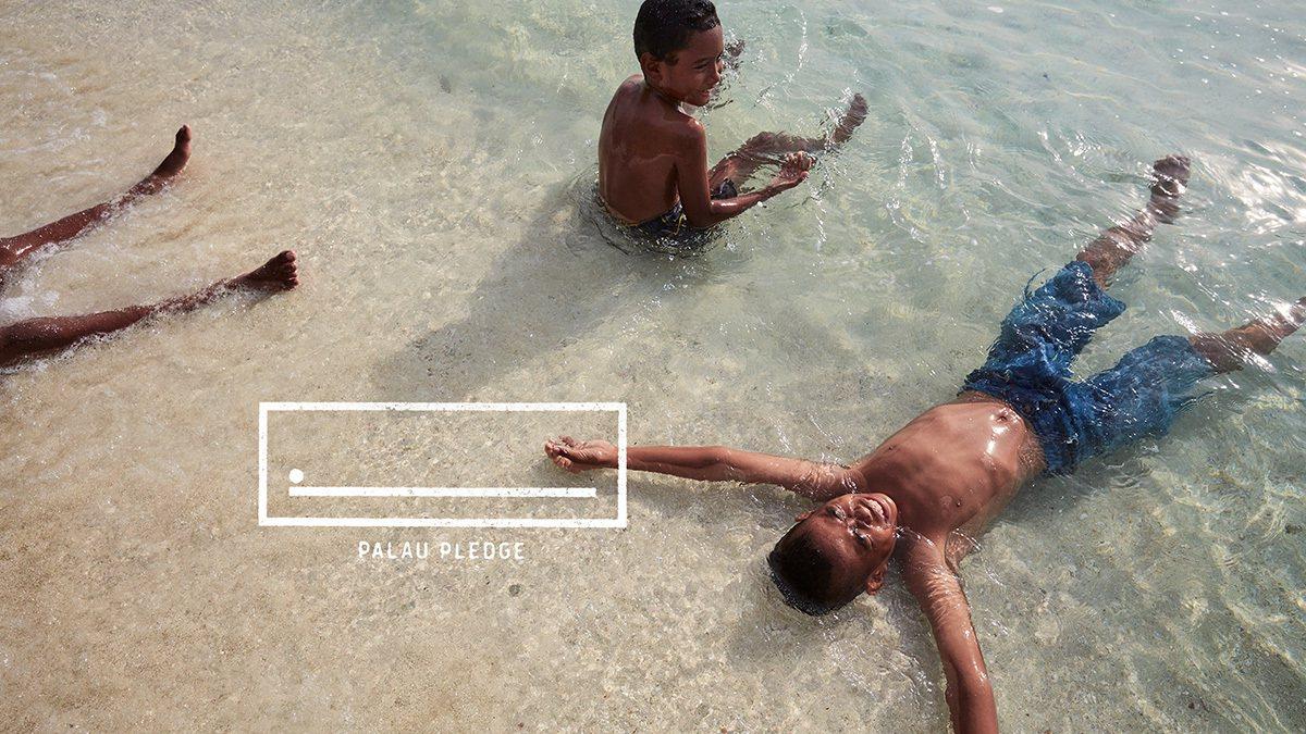 熱情好客的帛琉人歡迎各地旅客前來。 圖/台灣創意週 提供