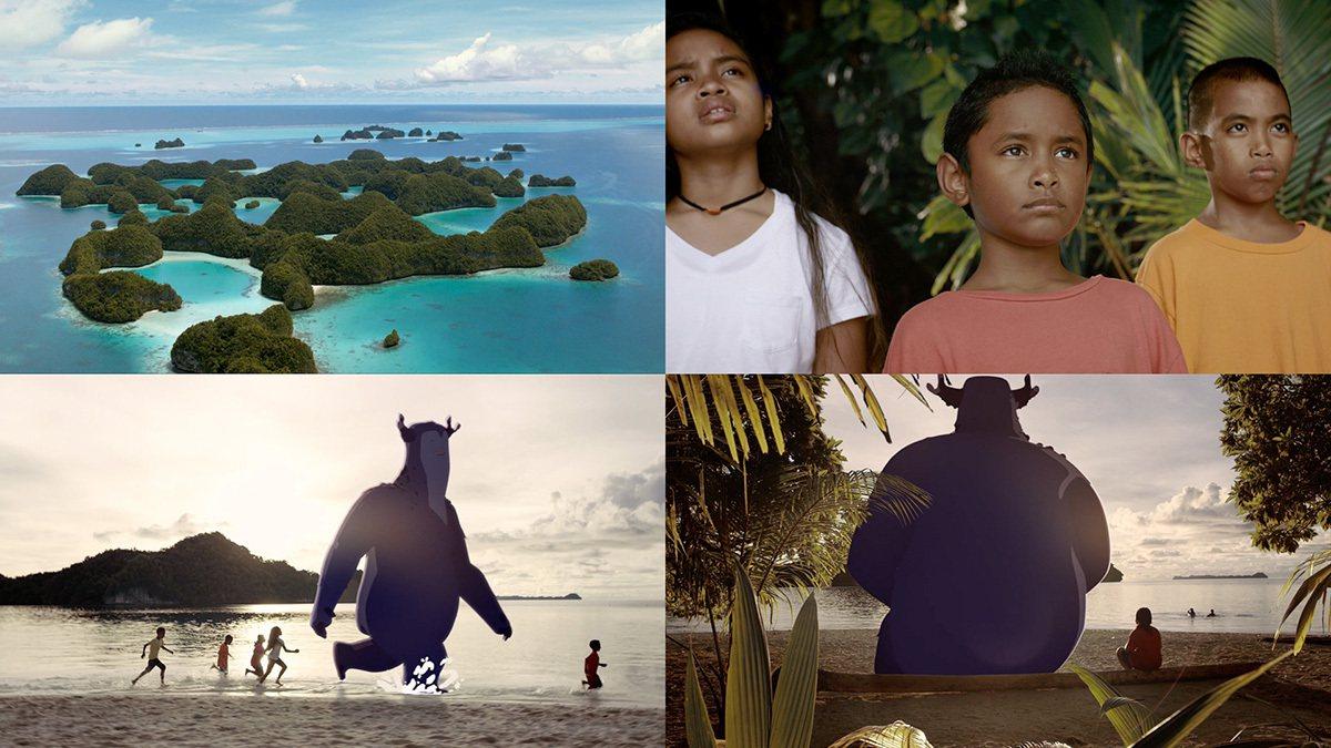 以豐富自然環境著稱的「帛琉」積極推動環保議題。 圖/台灣創意週 提供