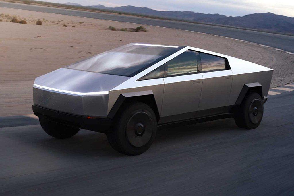 就算是最便宜的單馬達Tesla Cybertruck,最快也要2021下半年起才...
