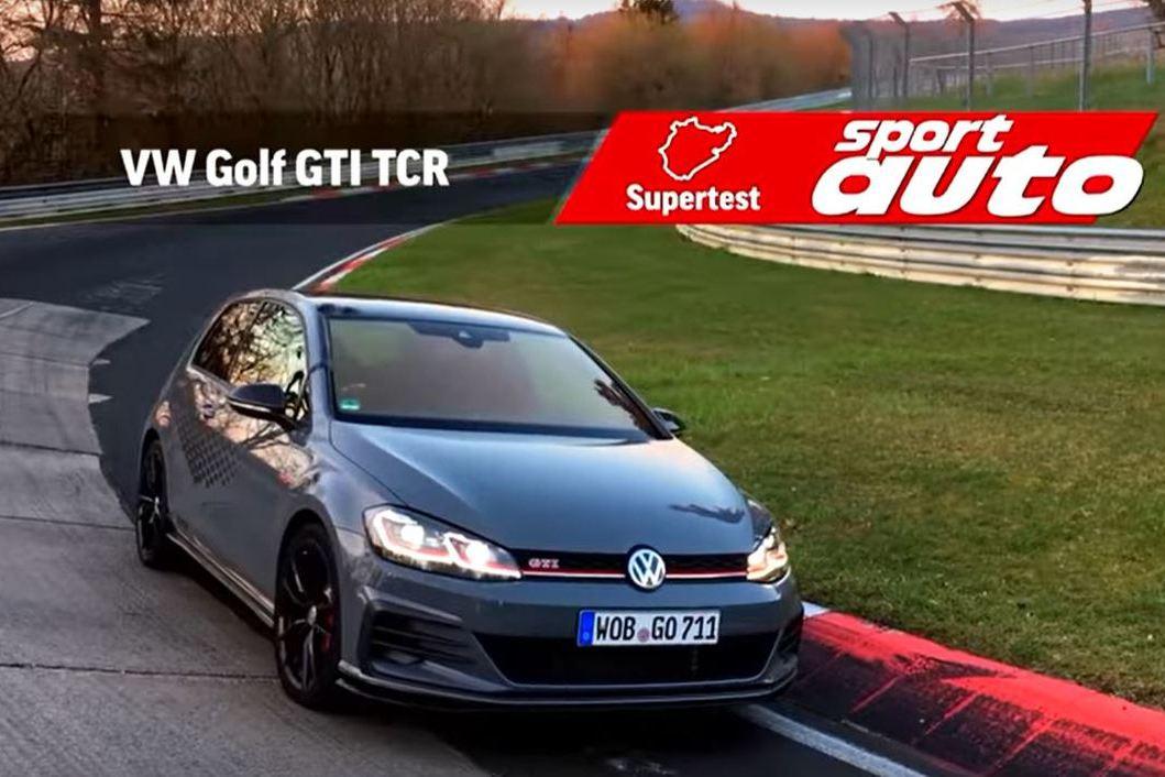 影/福斯Golf GTI TCR很快嗎?紐柏林8分04秒29真的夠快了!