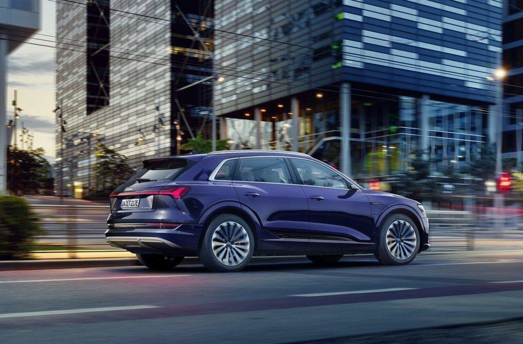 Audi e-tron為品牌第一款純電動車。 摘自Audi