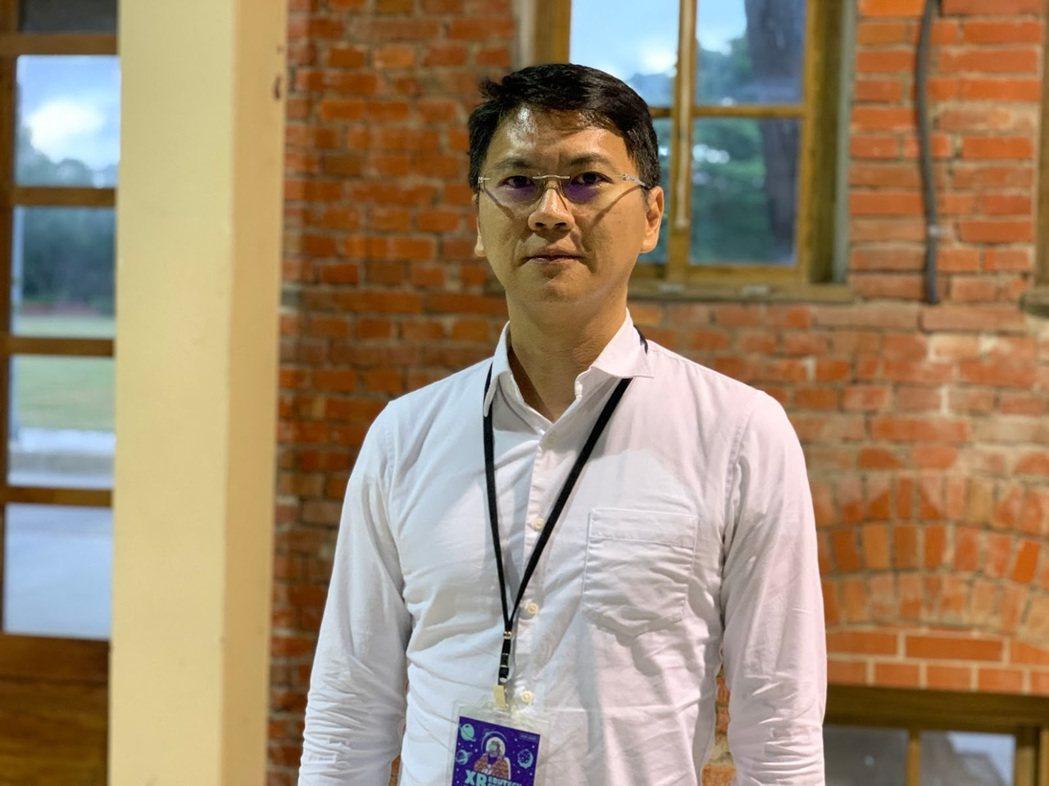 美國微軟Hololens資深互動設計師唐聖凱。 蔡尚勳/攝影