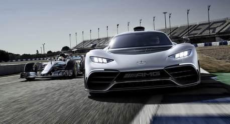 賓士將推出AMG One超跑 擁有源於F1的強力心臟!