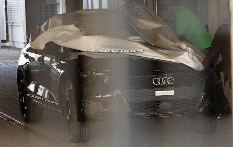 掀起你的蓋頭來! 新世代Audi A3無偽裝露半臉!