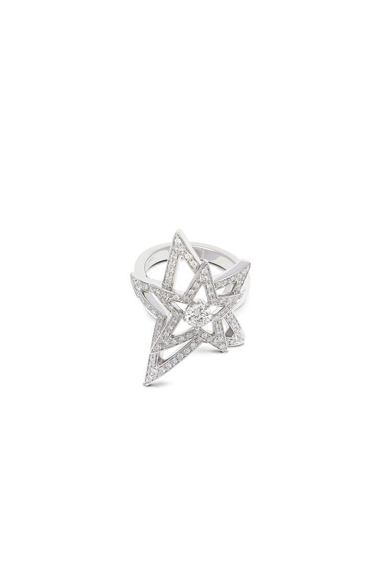 GIORGIO ARMANI Firmanmento系列高級珠寶,18K白金鑲鑽...