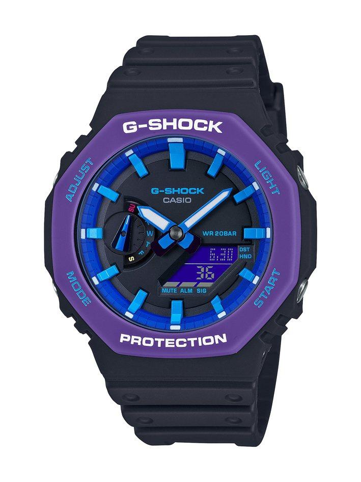 G-SHOCK GA-2100THS-1A腕表4,500元。圖/CASIO提供