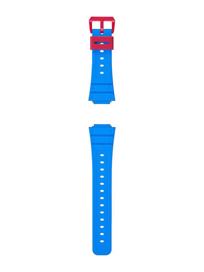 G-SHOCK GA-2100THS-1A腕表附贈快拆式表帶。圖/CASIO提供