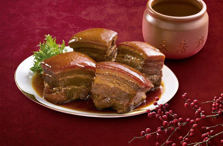 7-ELEVEN年菜預購推出「天香樓mini麗緻東坡肉」,售價699元。圖/7-...