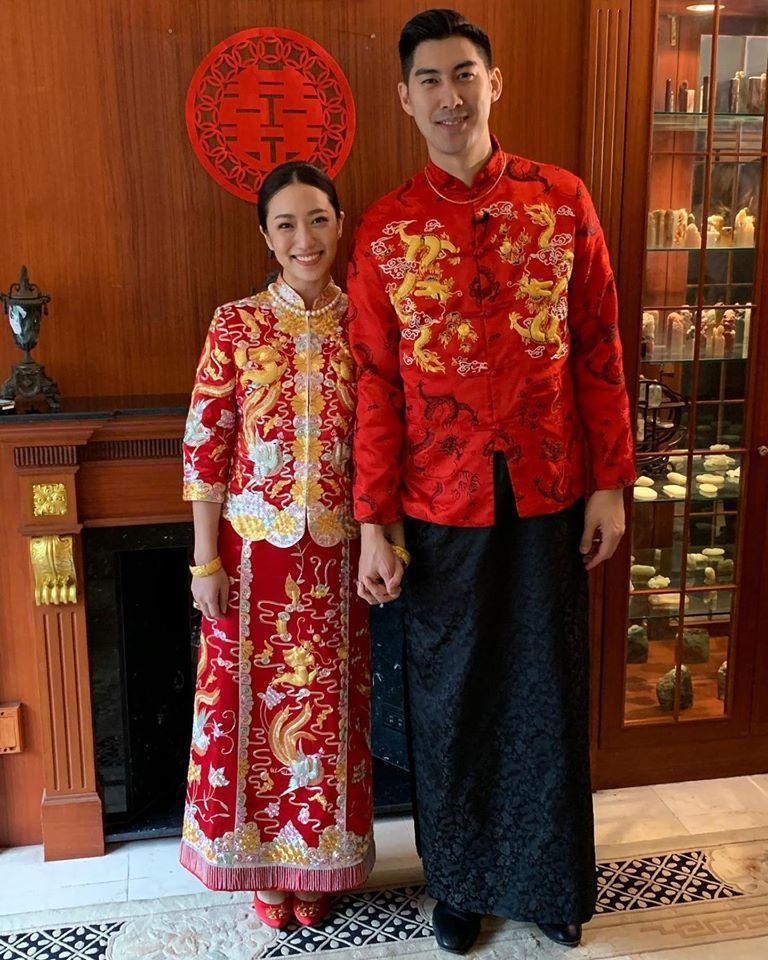 毛加恩(右)明天婚禮將如期舉行。圖/摘自臉書