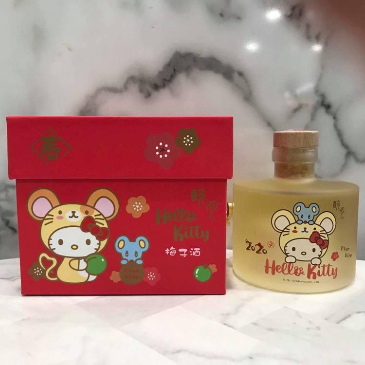 7-ELEVEN推出醉月 X Hello Kitty梅子酒鼠年音樂盒售價499元...