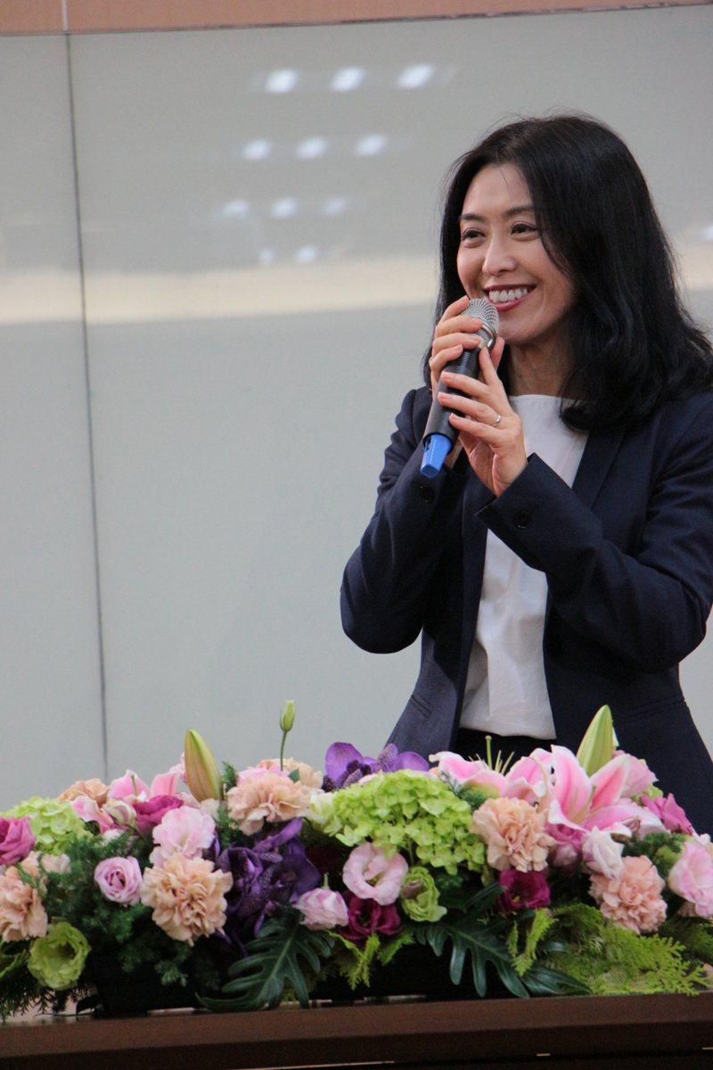 艾睿電子副總裁梁淑琴。圖/台大提供