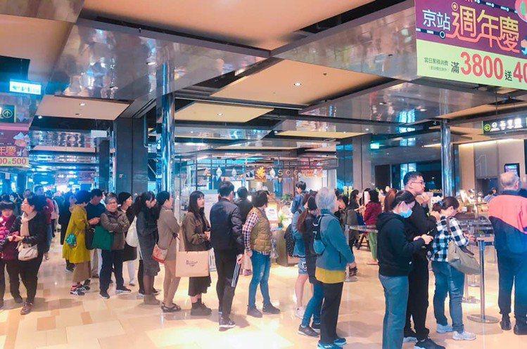 京站周年慶冬季服飾買氣夯。圖/京站提供