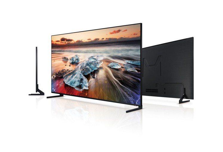 自12月3日起至2020年3月1日止,三星QLED量子電視買大送小超划算。圖/台...