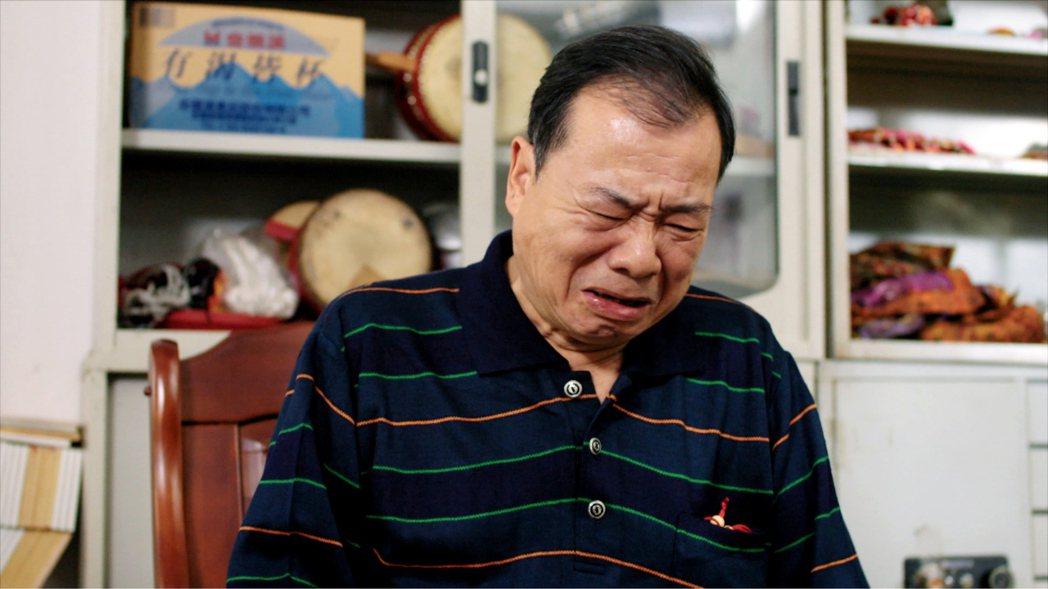 廖峻真情流露淚崩。圖/TVBS提供