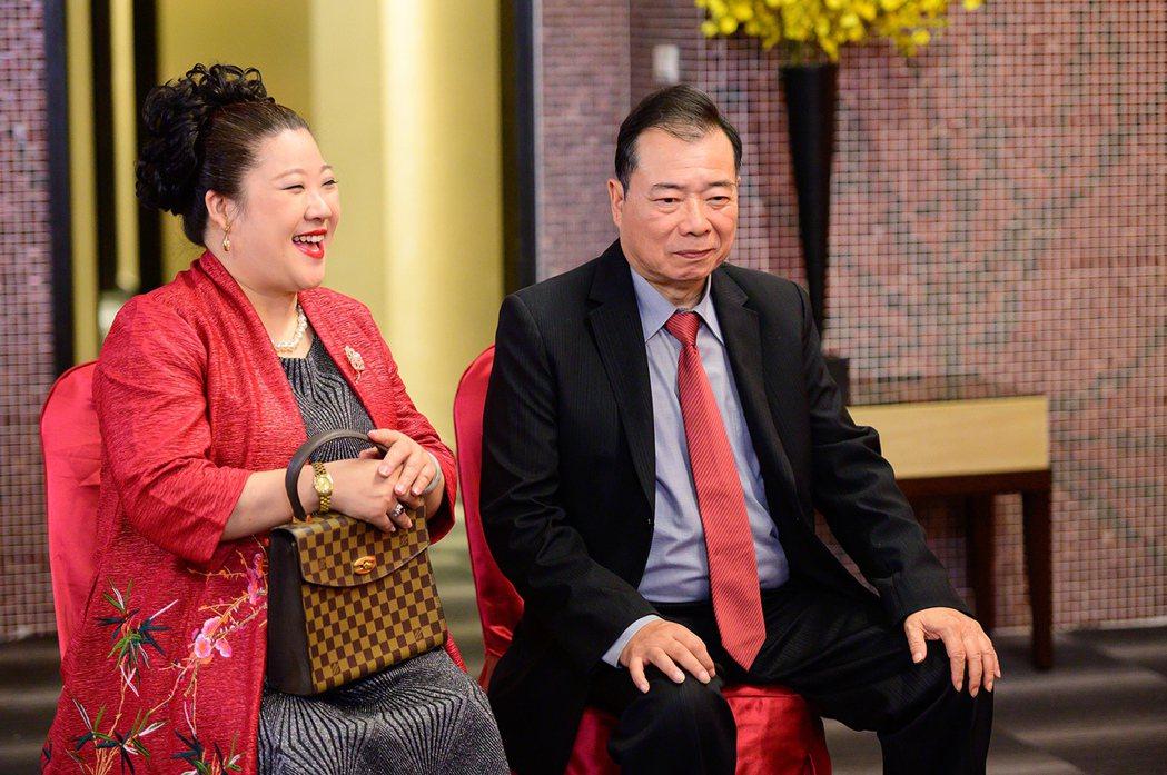 廖峻(右)身體復原良好。圖/TVBS提供