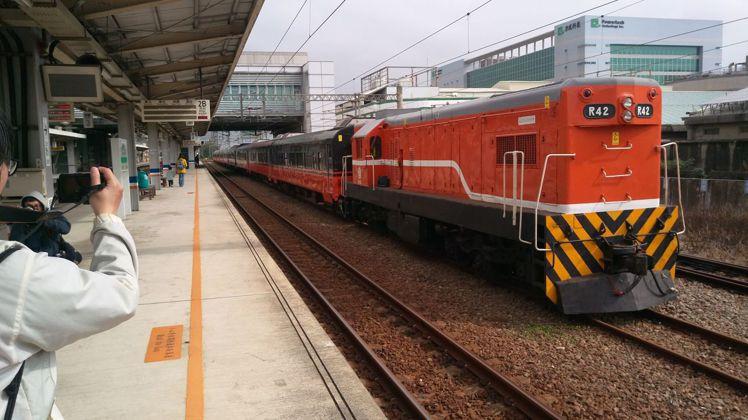 台鐵全新觀光列車塗裝曝光。圖/明新科技大學鐵道研究社提供
