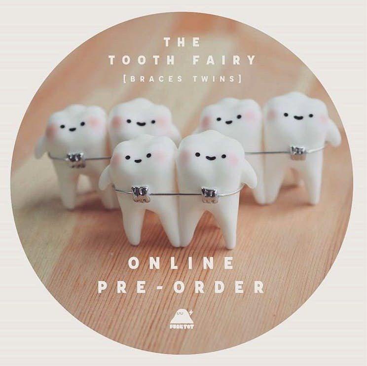 「牙套雙胞胎牙牙」造型逗趣,深受粉絲喜愛。圖/取自strike126 @inst...