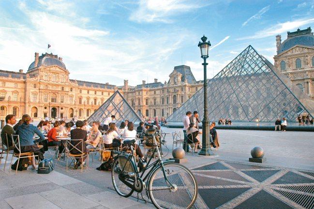 羅浮宮是法國知名的藝術重鎮。 本報資料照片