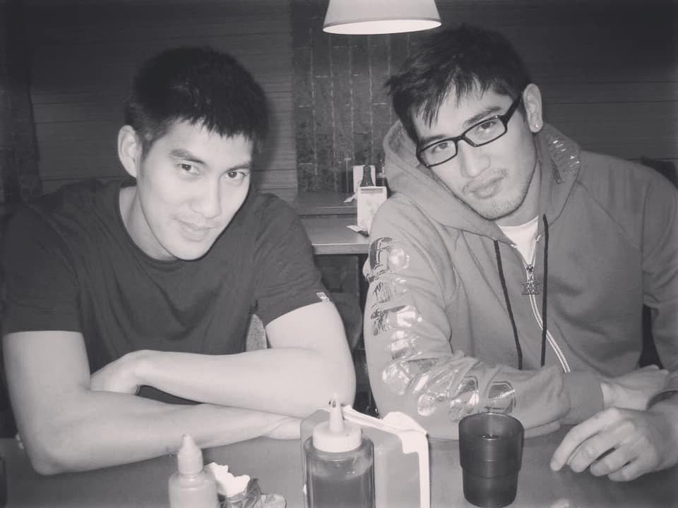 毛加恩(左)與高以翔是多年好友。圖/摘自毛加恩IG