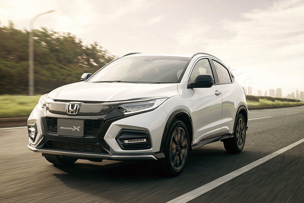 維持Honda Vezel銷售熱度,日本再推Modulo X套件特仕車。 圖/H...